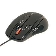 A4Tech EVO XGame Laser Oscar X750 Extra Fire USB  przedstawia grafika.