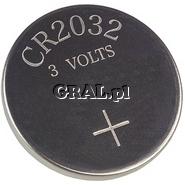 Bateria do plyty glównej CR2032 przedstawia grafika.