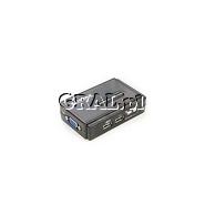 Przelacznik KVM Edimax EK-UAK2 (USB+audio+mic, 2 KVM-PCs for one KVM-Station) przedstawia grafika.