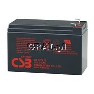 Akumulator Fideltronik CSB 12V/7,2Ah przedstawia grafika.