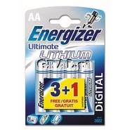 Baterie Energizer Ultimate Lithium 4szt. AA przedstawia grafika.