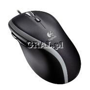 Logitech M500 Corded Mouse przedstawia grafika.