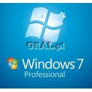 Microsoft Windows 7 Professional 64Bit PL OEM przedstawia grafika.