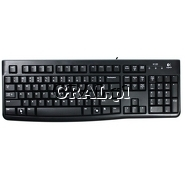 Logitech Keyboard K120 for Business przedstawia grafika.