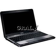 ˙Toshiba A660-11M Core i7 720QM(1.60) 4GB 500GB 16HD LED DVD GT330M WiFi Kam BT Win7HP przedstawia grafika.