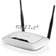 TP-Link Wireless Router TL-WR841N 802.11n/300Mbps przedstawia grafika.