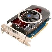 ˙Radeon HD6770 Sapphire 1024MB GDDR5, DP, HDMI, DVI, PCI-E 850/4800 przedstawia grafika.