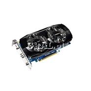 ˙GeForce GTX560Ti Gigabyte 1024MB, DDR5, miniHDMI, 2xDVI, PCI-E przedstawia grafika.