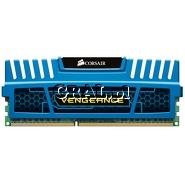 DDR3 4GB 1600MHz Corsair Vengeance XMP Blue CL9 przedstawia grafika.