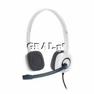 Sluchawki Logitech Stereo Headset H150 Coconut przedstawia grafika.