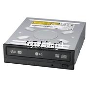 LG GH22NS90 DVD±R 22x, DVD+RW 8x, CD-RW 32x, DVD+R DL 12x, DVD-RAM 12x, OEM, SATA, Black przedstawia grafika.