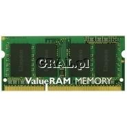 Kingston 8GB 1600MHz DDR3 Non-ECC CL11 SODIMM przedstawia grafika.