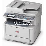 OKI MB471W (Laserowa drukarka, Kopiarka, Skaner RADF, USB, LAN, Dupleks, WiFi)  przedstawia grafika.