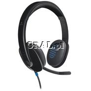 Sluchawki Logitech Headset H540 USB przedstawia grafika.