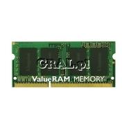 Kingston 8GB 1600MHz DDR3L Non-ECC CL11 SODIMM przedstawia grafika.