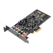 Creative Sound Blaster Audigy FX (PCI Express) przedstawia grafika.