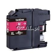 Wklad drukujacy Brother LC-525-XL-M Magenta (1300 str) przedstawia grafika.