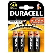 Baterie Duracell Duralock 4szt. AA przedstawia grafika.
