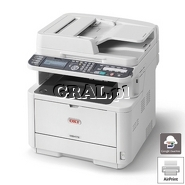 OKI MB472DNW (Laserowa drukarka, Kopiarka, Skaner RADF, USB, LAN, Dupleks, WiFi) przedstawia grafika.