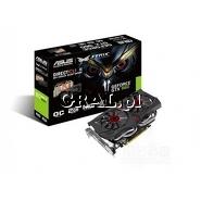 ˙GeForce GTX960 Asus 2GB, DDR5, 3xDP, HDMI, DVI, PCI-E 1253/7200 przedstawia grafika.