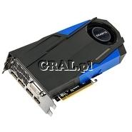 ˙GeForce GTX970 Gigabyte 4GB, DDR5, 3xDP, HDMI, DVI, PCI-E, 1076/7010 przedstawia grafika.