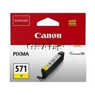 Wkład Canon CLI-571Y (Yellow) przedstawia grafika.