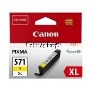 Wkład Canon CLI-571Y XL (Yellow) przedstawia grafika.