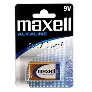 Baterie Maxell Alkaline 9V 6LR61 przedstawia grafika.