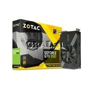 GeForce GTX 1060 Zotac 6GB, DDR5, 3xDP, HDMI, DVI, PCI-E, Mini 1506/8000 przedstawia grafika.