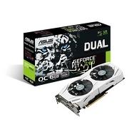 ˙GeForce GTX1060 Asus 6GB, DDR5, 2xDP, 2xHDMI, DVI, PCI-E, Dual OC 1569/8008 przedstawia grafika.