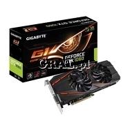 GeForce GTX1060 Gigabyte 6GB, DDR5, 3xDP, HDMI, DVI, PCI-E, G1 Gaming 1594/8008 przedstawia grafika.