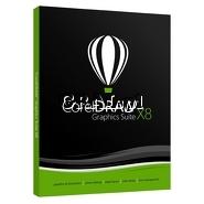 ˙CorelDRAW Graphics Suite X8 PL BOX przedstawia grafika.