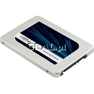 "Crucial MX300 SSD 275GB, 2.5"", SATA3, 530/500 MB/s przedstawia grafika."
