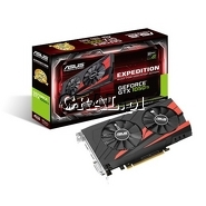˙GeForce GTX1050 Ti Asus 4GB, DDR5, DP, HDMI, DVI, PCI-E, Expedition 1290/7008 przedstawia grafika.