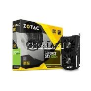 GeForce GTX1050 Ti Zotac 4GB, DDR5, DP, HDMI, DVI, PCI-E, OC Edition 1392/7000 przedstawia grafika.