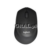 Logitech M330 Silent Plus Black (Wireless) przedstawia grafika.