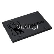 """Kingston SSDNow A400 120GB SSD, 2.5"""", SATA3 przedstawia grafika."""
