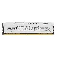 DDR4 8GB 2666MHz Kingston HyperX Fury White (8GB, CL16) przedstawia grafika.