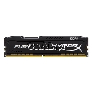 DDR4 8GB 2666MHz Kingston HyperX Fury Black (8GB, CL16) przedstawia grafika.
