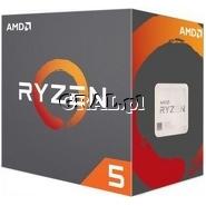 AMD Ryzen 5 1500X (3.5GHz, Quad Core, 16MB, 65W, BOX, AM4) przedstawia grafika.