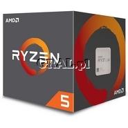 AMD Ryzen 5 1600 (3.2GHz, Six Core, 16MB, 65W, BOX, AM4) przedstawia grafika.