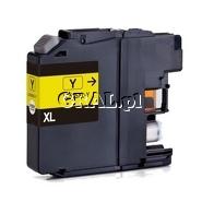 Wklad drukujacy zamiennik LC525XL-Y Yellow (1300 str) przedstawia grafika.