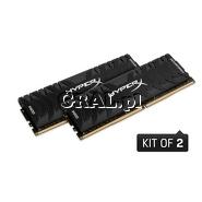 DDR4 16GB 2666MHz Kingston HyperX Predator (2x8GB, CL13) przedstawia grafika.