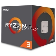 AMD Ryzen 3 1300X (3.5GHz, Quad Core, 8MB, 65W, BOX, AM4) przedstawia grafika.