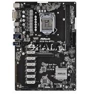 ASRock H110 PRO BTC+ , H110, DVI, DDR4, 12x PCI-E x1, 1x PCI-E x16, mATX, LGA1151 przedstawia grafika.