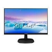 """Philips 27"""" LCD 273V7QDAB (5ms, IPS, DSUB, HDMI, DVI, Głośniki, FullHD) przedstawia grafika."""
