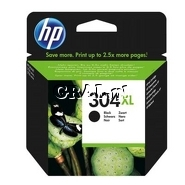 Wkład drukujący HP No 304XL Black przedstawia grafika.