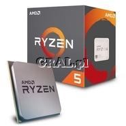 AMD Ryzen 5 2600 (3.4GHz, Six Core, 19MB, 65W, BOX, AM4) przedstawia grafika.