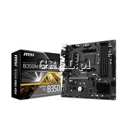 MSI B350M PRO-VDH B350 HDMI DVI DSUB DDR4 M2 RAID MATX AM4 przedstawia grafika.