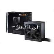 ˙Zasilacz do obudowy ATX 400W be quiet! Pure Power 10 (80PLUS Silver) przedstawia grafika.